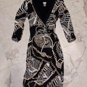 Golden 🔐 dress